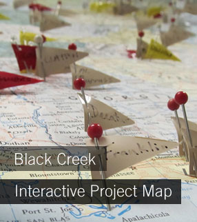 Black Creek Interactive Project Map